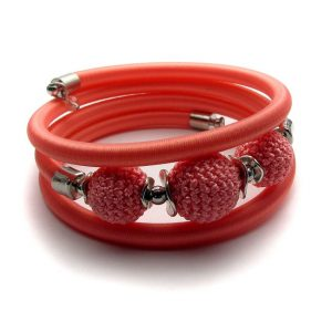 Pipe Bracelet Collection – Peach