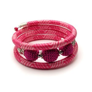 Pipe Bracelet Collection – Pink