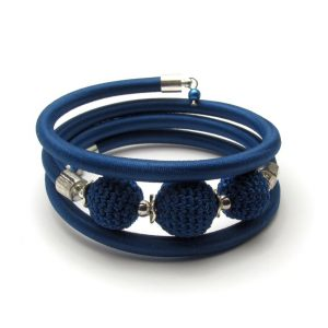 Pipe Bracelet Collection – Navy blue