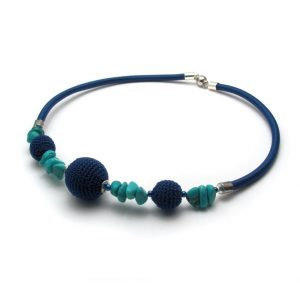 Pipe Necklace Collection – Blue & turquoise